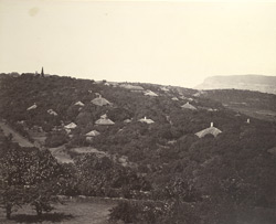 General view of Mahableshwar, Bombay. 5,800 ft high.
